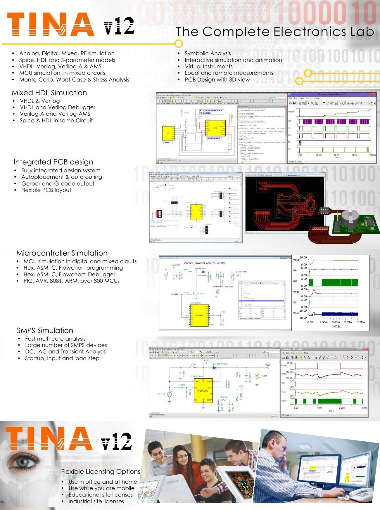 Upgrade To Tina 10 Classic From Basic Student Version Electronic Circuit Simulator Online Single User Design Suite Includes Cd And A Printed Manual